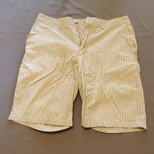Quicksilver plaid shorts sz 34